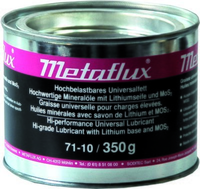 Metaflux hoogbelastbaar universeel vet, inhoud: 350 gr