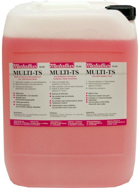 Metaflux multi - TS anti spatter, inhoud: 5 L