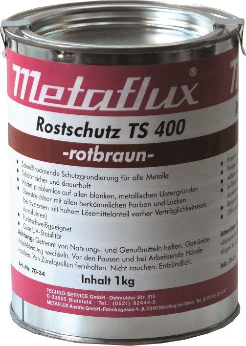 Metaflux TS 400 kleur: rood/bruin, inhoud: 5 kg