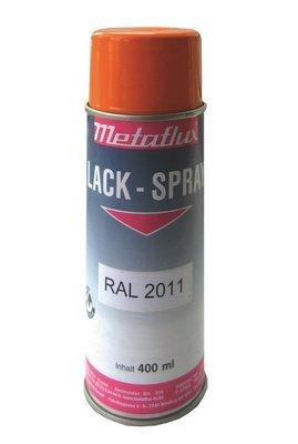 Metaflux verf spay volgens RAL kleur, inhoud: 400 ml