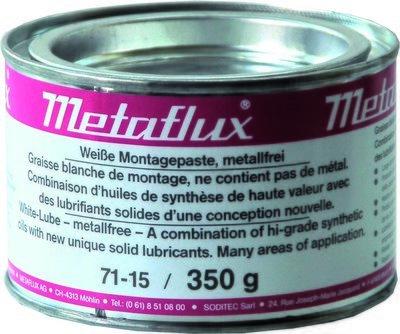 Metaflux witte montagepasta, inhoud: 350 gr