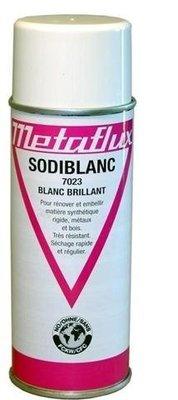 Metaflux witte verf glanzend, inhoud: 400 ml
