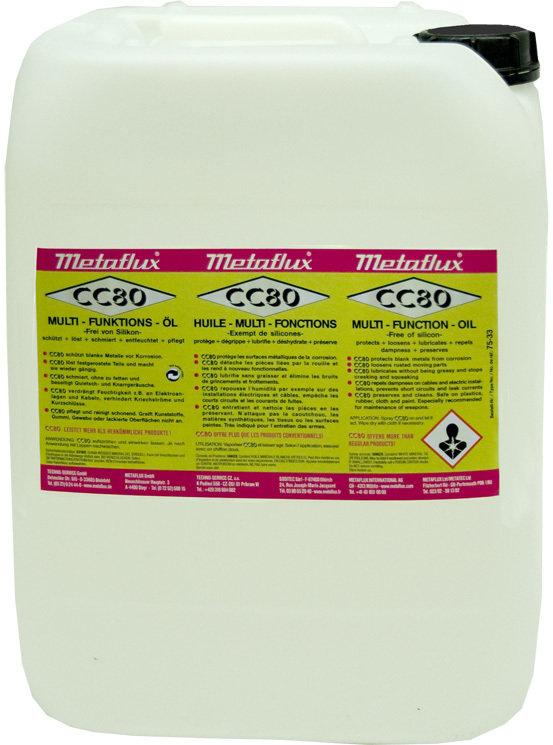 Metalfux CC 80 multi functionele olie, inhoud: 20 L