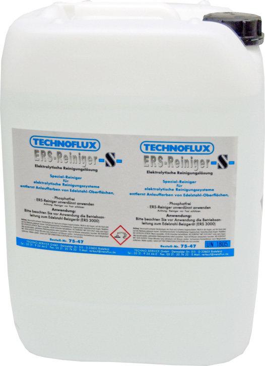 Metalfux technoflux reinigingsvloeistof, inhoud: 20 L
