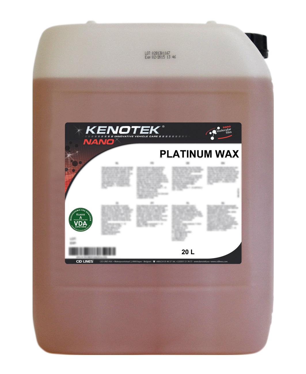 Kenotek Platinum Wax, inhoud: 20 L