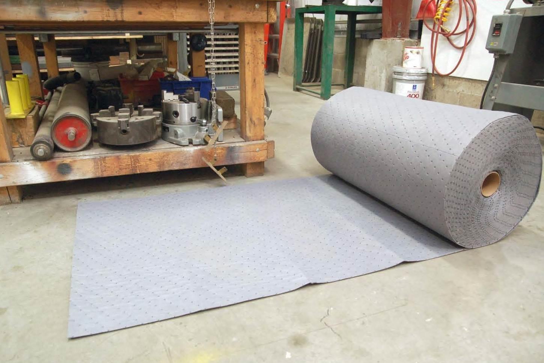 BPB absorberende doeken olie/water op rol 38 cm x 46 m 2st.