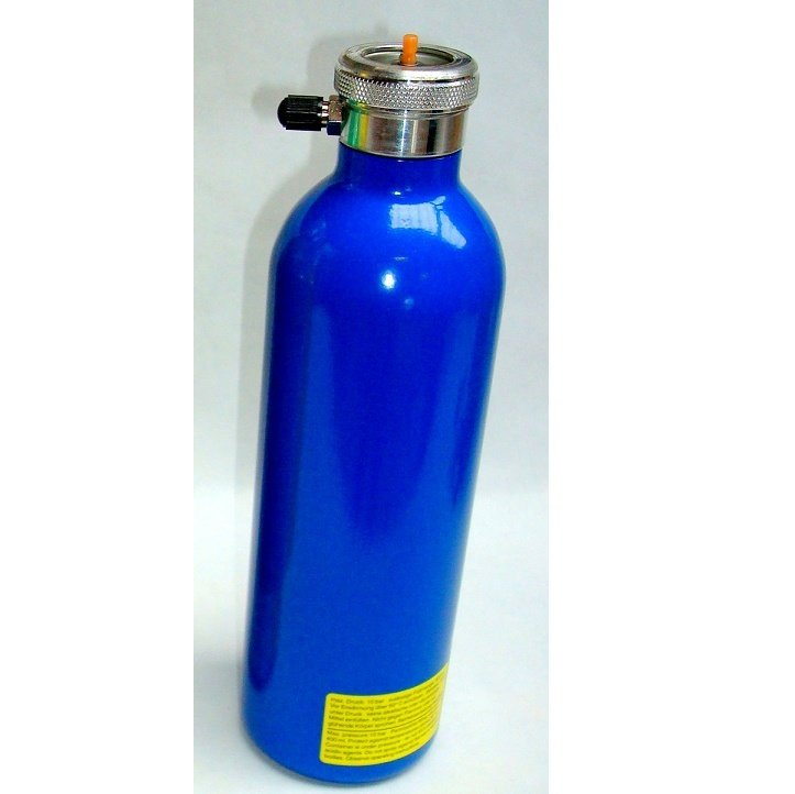 BPB hervulbare spray kleur blauw 400 ml