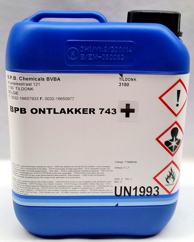 BPB koudontlakker + extra sterk, vloeibaar, inhoud: 5 L