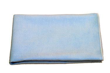 BPB microvezeldoek top glas 40 x 40 cm, kleur: blauw
