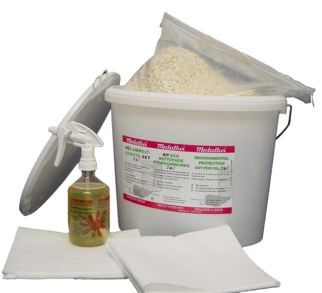 Metaflux kit voor het reinigen van olievlekken 3 in 1