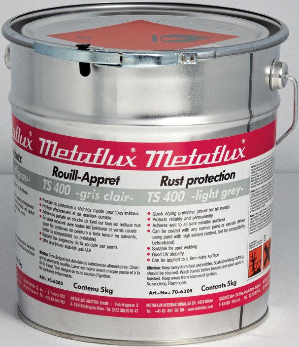 Metaflux TS 400 kleur: licht grijs, inhoud: 5 kg