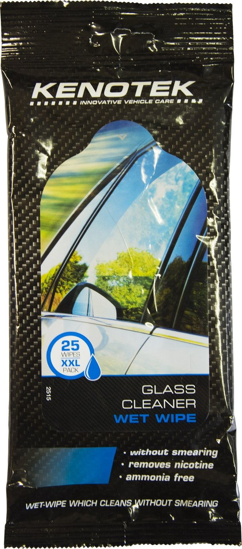 Kenotek Flowpack Glass, 25 wet wipes