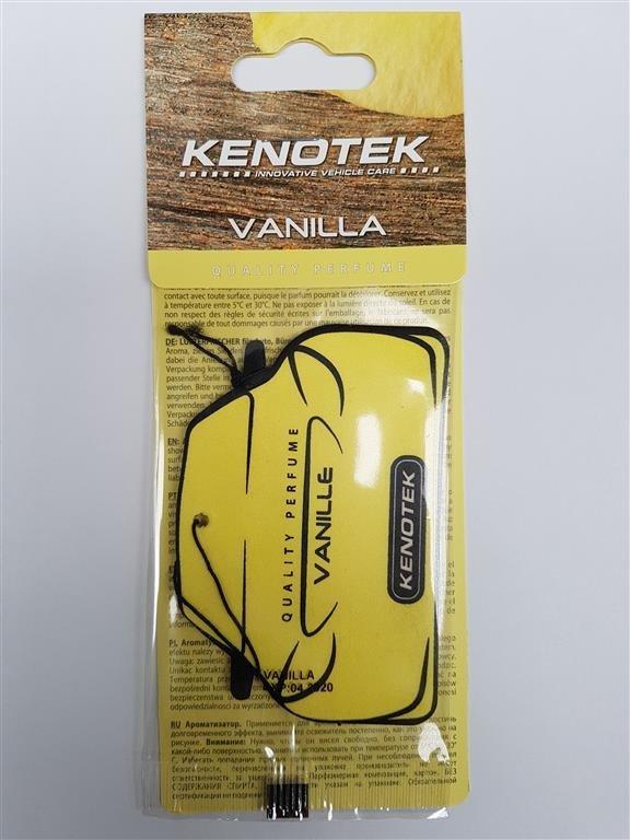 """Kenotek Parfum kaart, """"vanilla"""""""