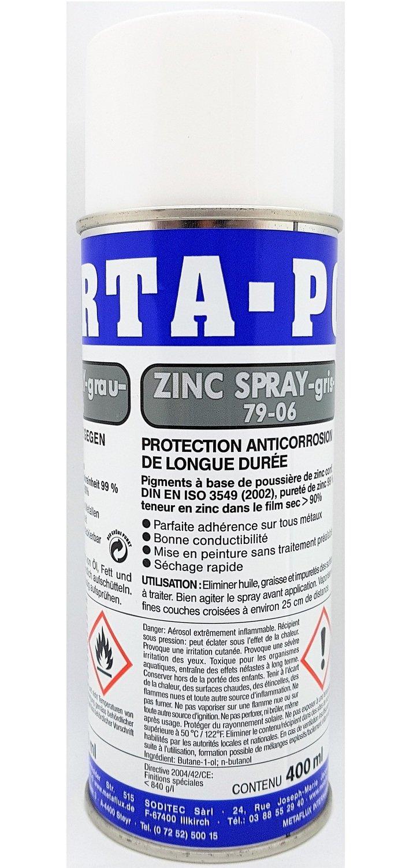 Porta zink spray, inhoud: 400 ml