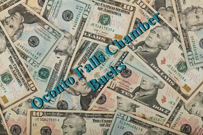 Oconto Falls Chamber Bucks