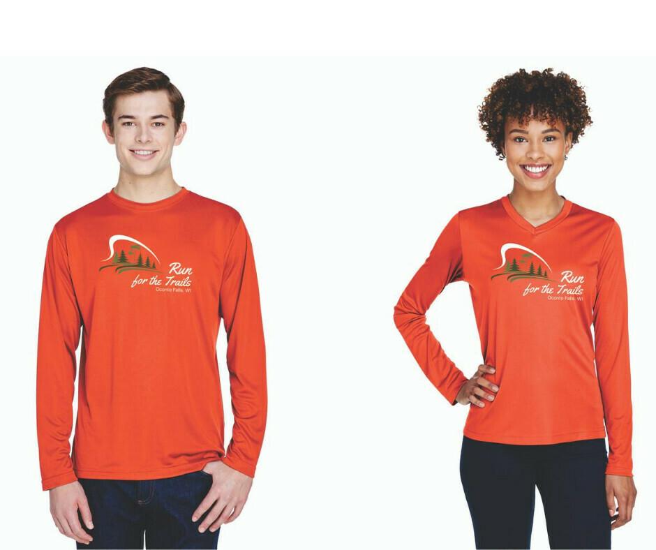 Long Sleeve Custom 2020 Run For The Trails T-Shirt