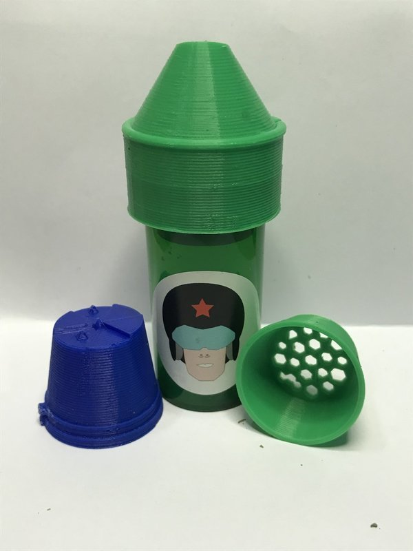 Commander Cannabis Grinding Conehead Kit