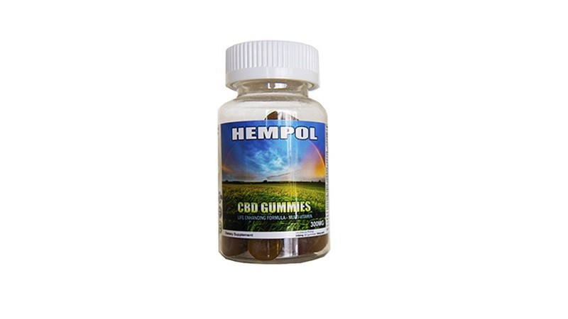 Hempol Nano 300MG CBD Gummies - Multivitamin