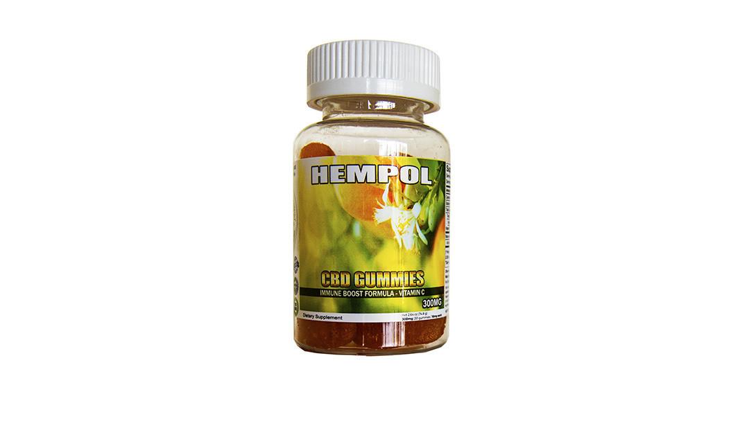 Hempol Nano 300MG CBD Gummies with Vitamin C