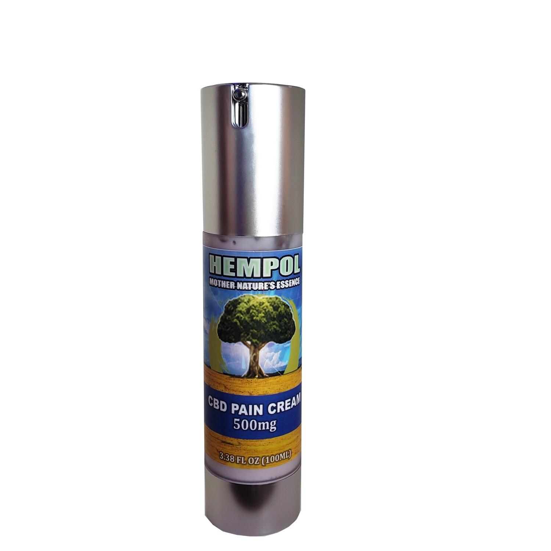 Hempol 500MG CBD Pain Cream