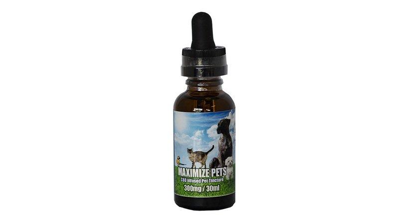 Maximize Pets by Hempol 300MG Nano CBD Oil for Pets