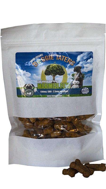 Maximize Pets by Hempol 150mg CBD Organic Doggie Taters