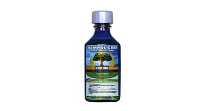 Hempol Nano CBD Syrup - Very Berry