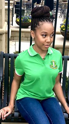 Green Fitted AKA Polo