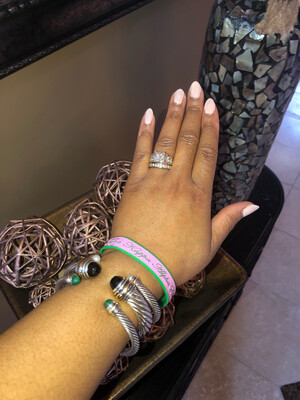 Alpha Kappa Alpha wristband