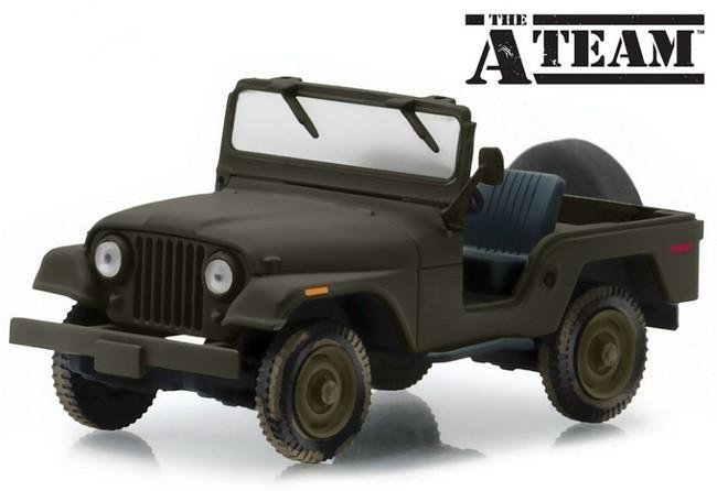 A-Team   Jeep CJ-5