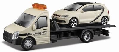 Flatbed Transport met Volkswagen