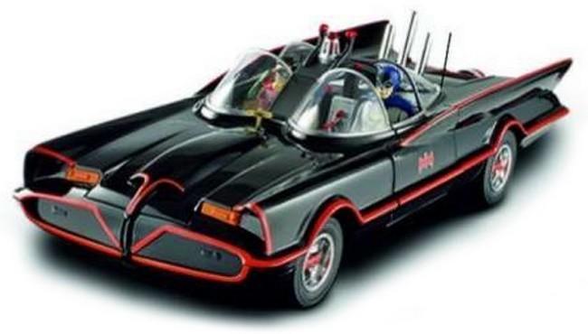 Batman  -  Batmobile Classic tv serie - de luxe