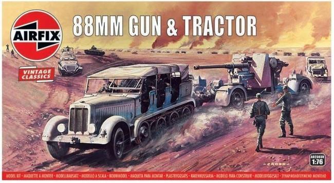 88 mm Gun & Tractor