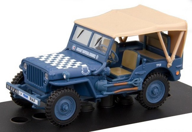 Willy Jeep 1/4 ton RAF