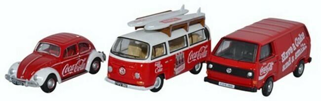 Volkswagen  set Coca Cola