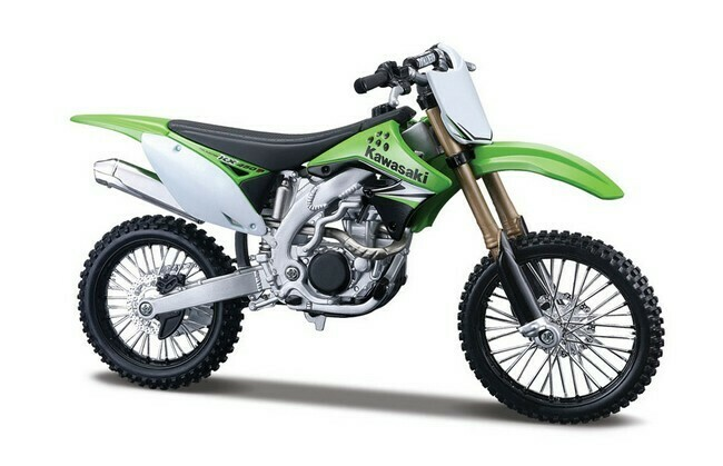 Kawasaki KX 450 F Assembly line