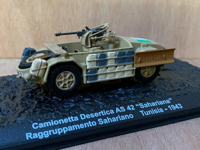 Camionetta Desertica AS 42