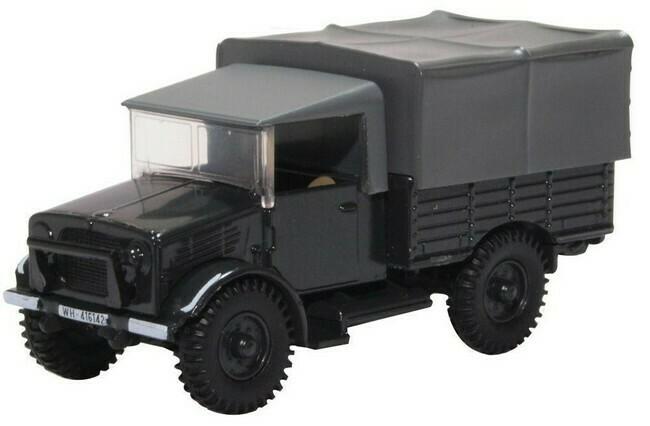 Bedford MWD Captured Luftwaffe