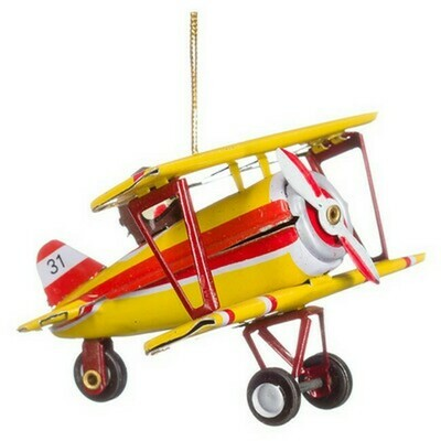 Penny Toy, dubbeldekker vliegtuig (kerst)