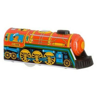 Locomotief , Overland Express, rood