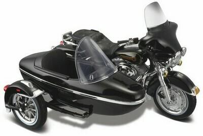 Harley Davidson Electra Glide met zijspan