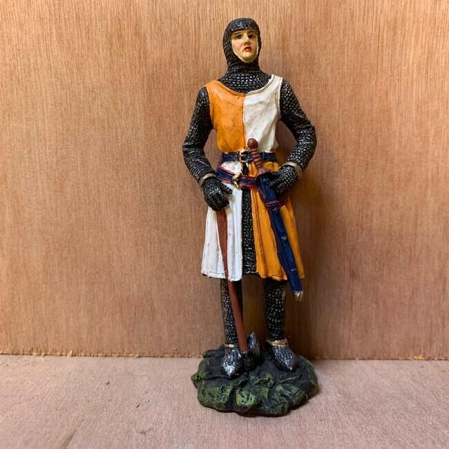 Ridder met bijl en zwaard