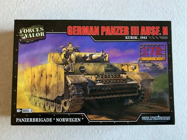 German Panzer III Ausf.N (modelbouw)