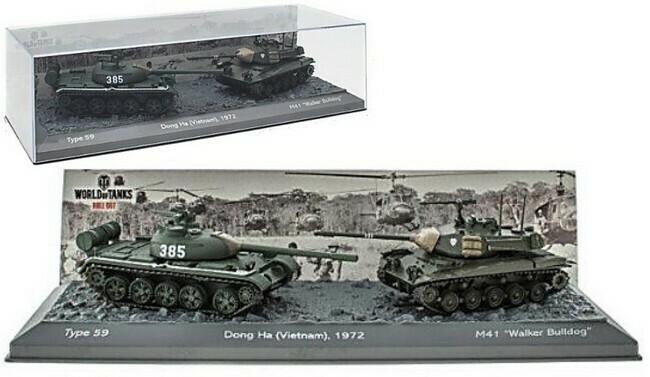 Dong-Ha Vietnam  -  Type 59 versus M41
