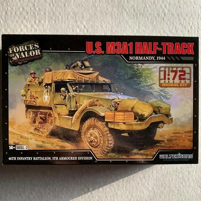 M3A1 Half-track (modelbouw)