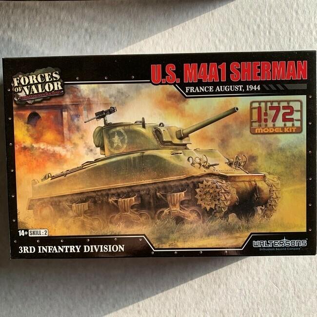 M4A1 Sherman (modelbouw)