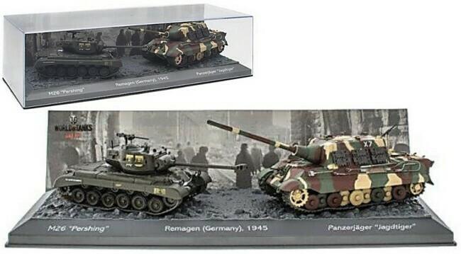 Remagen - M26 versus Panzerjäger