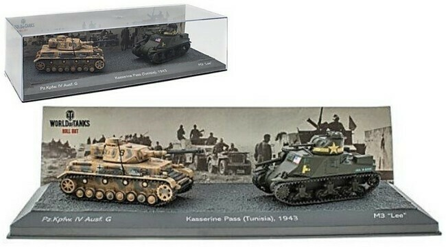 """Tunisia  -  Pz.Kpfw IV Ausf. G versus M3 """"Lee"""""""