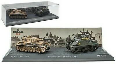 Tunisia  -  Pz.Kpfw IV Ausf. G versus M3
