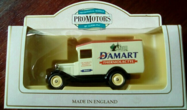 Damart Promotional Van